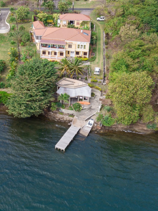 Sophisticated and Architecturally Impressive Waterfront Property