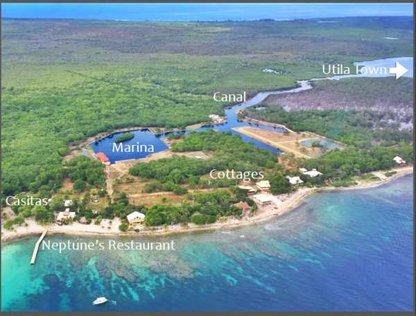 Coral Beach Village Development Utila Islas De La Bahia Honduras