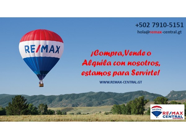Remax Central Guatemala Local Rent in Tactic