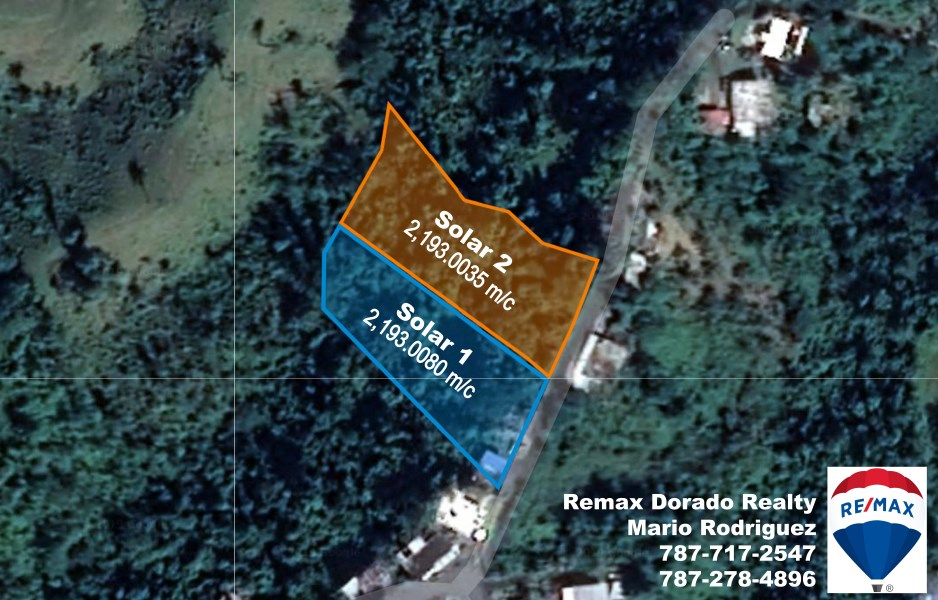 RE/MAX real estate, Puerto Rico, Corozal, Bo. Dos Bocas Lot #2-PRICE REDUCTION!
