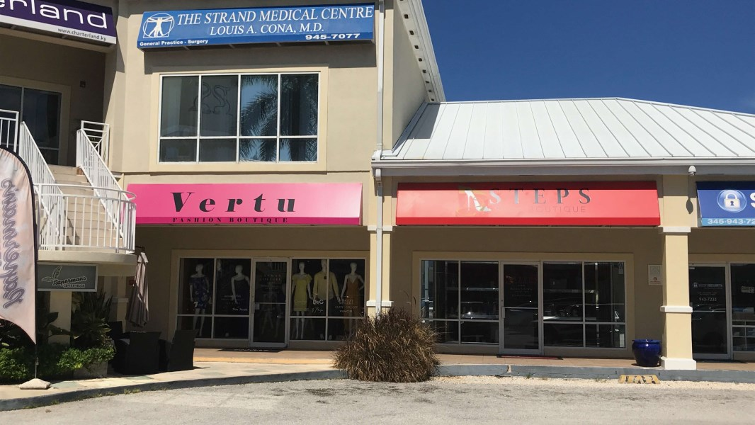 RE/MAX real estate, Cayman Islands, W Bay Bch South, The Strand - Store to lease