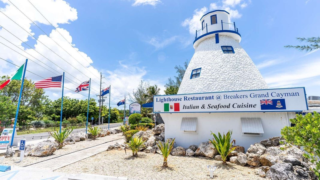RE/MAX real estate, Cayman Islands, Breakers, The Lighthouse Restaurant