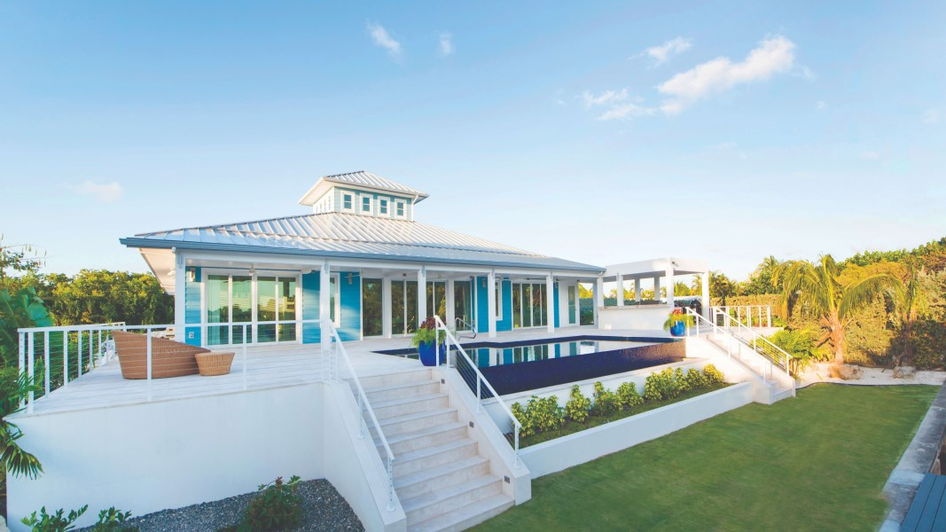 RE/MAX real estate, Cayman Islands, W Bay Bch South, Waterfront West Indian Contemporary