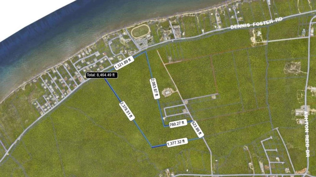 RE/MAX real estate, Cayman Islands, Cayman Brac Centr, Cayman Brac 58 acre Bluff Parcel