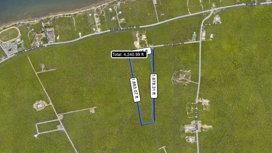 RE/MAX real estate, Cayman Islands, Cayman Brac Centr, Cayman Brac 14.7 acre inland bluff parcel