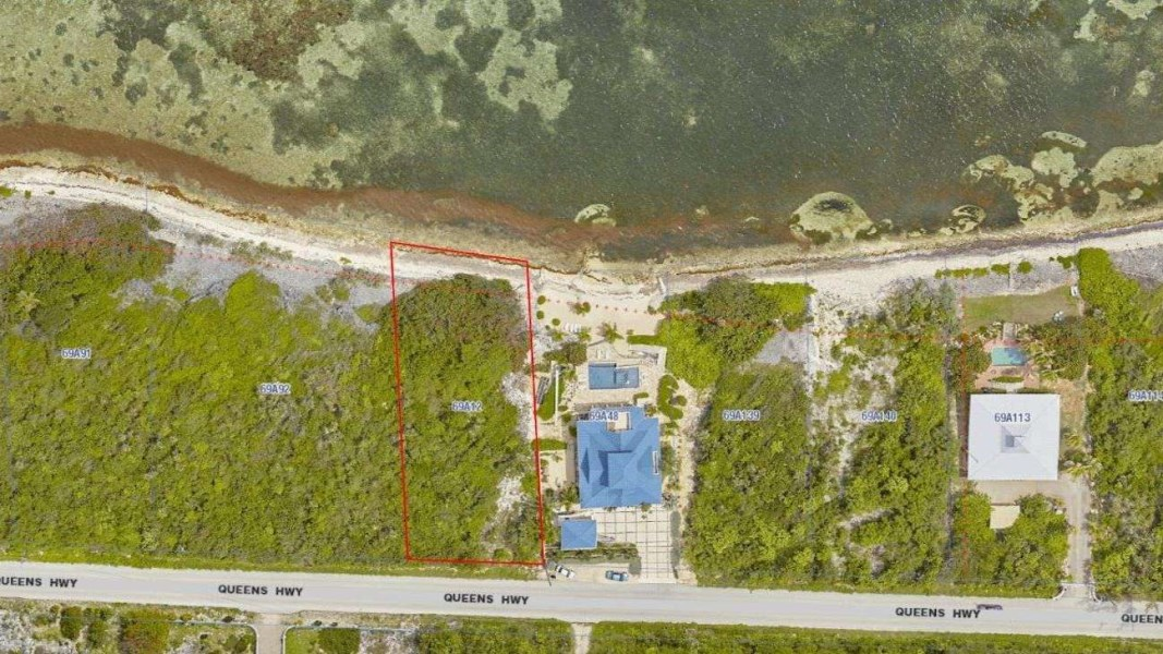 RE/MAX real estate, Cayman Islands, North East Coast, Queen's Reef - Ocean Front Land