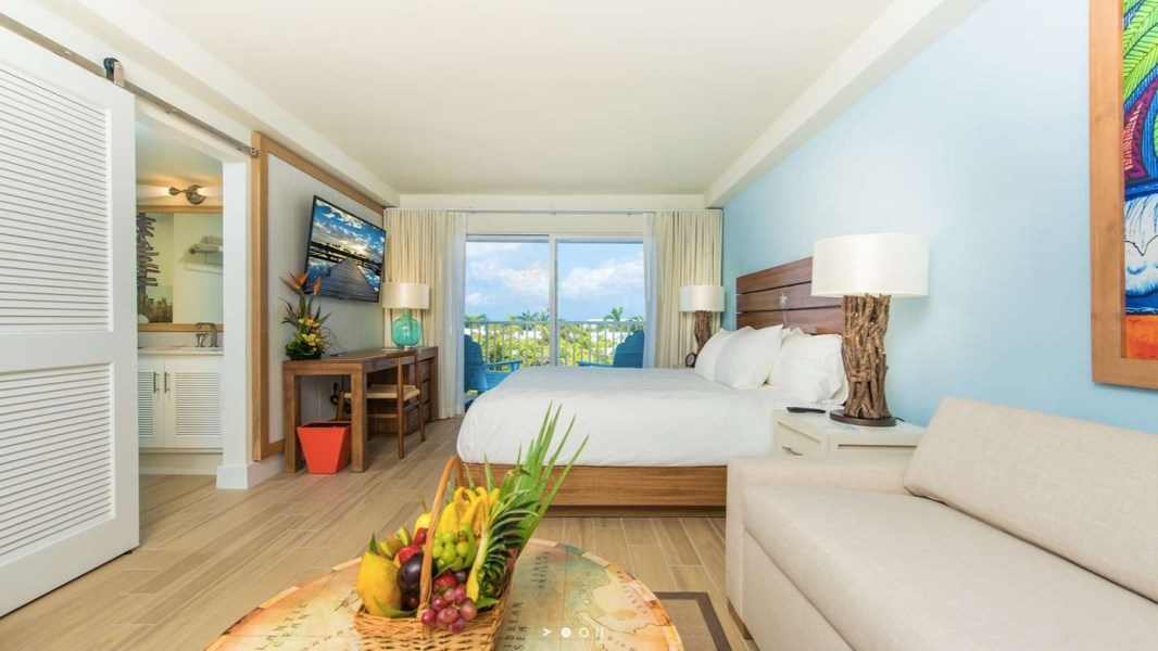 RE/MAX real estate, Cayman Islands, W Bay Bch South, Margaritaville - Garden View - Studio Suite