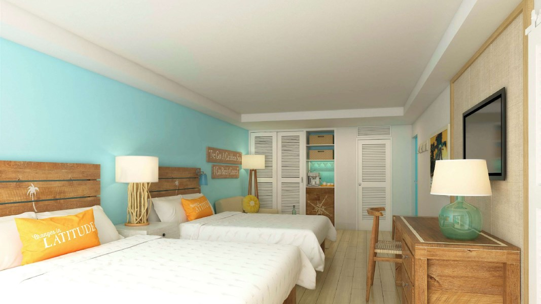 RE/MAX real estate, Cayman Islands, W Bay Bch South, Margaritaville Garden View Extended Suite
