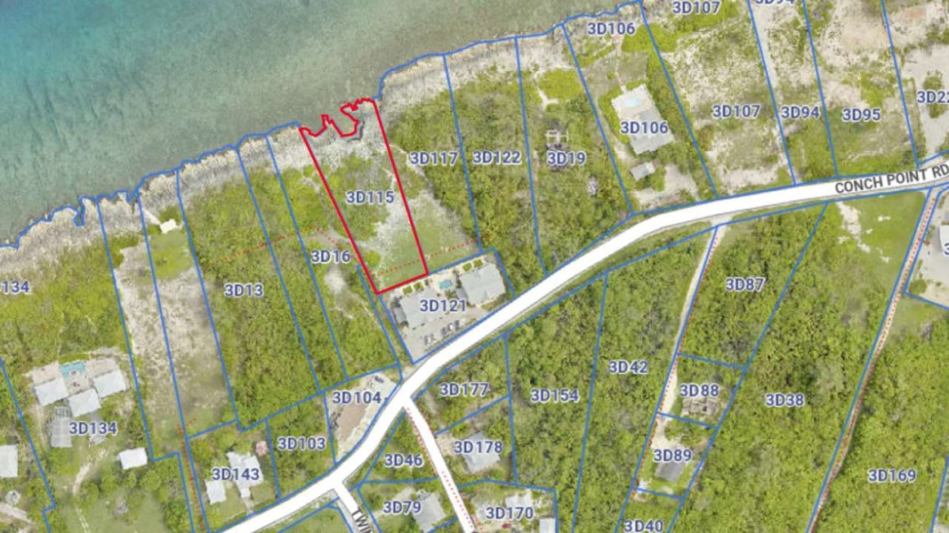 RE/MAX real estate, Cayman Islands, W Bay Bch West, Oceanfront Land Conch Point Rd