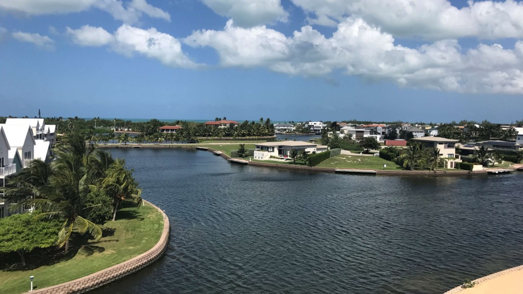 RE/MAX real estate, Cayman Islands, Prospect, Periwinkle Waterfront Canal Townhome With 30' Dock