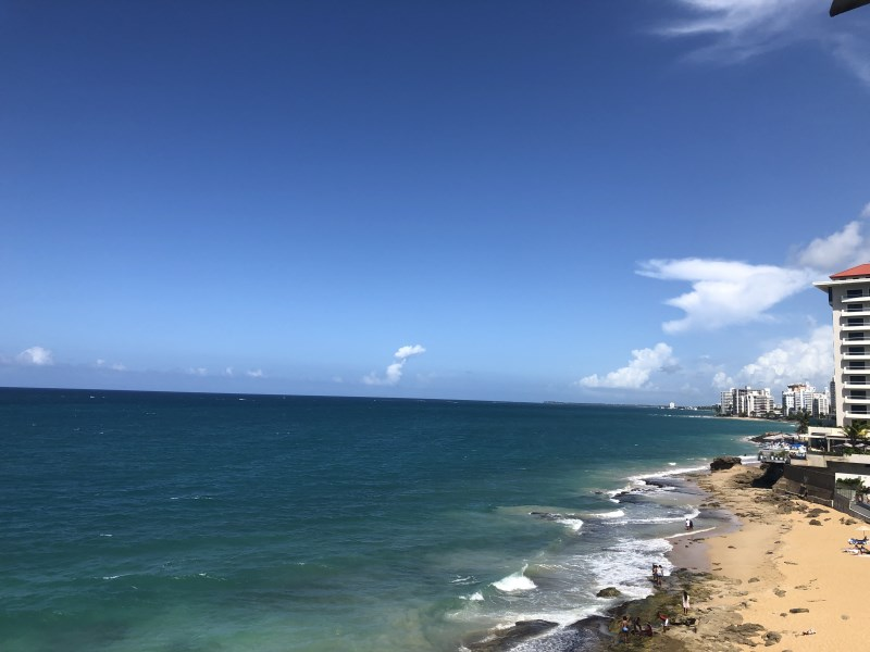 RE/MAX real estate, Puerto Rico, Condado, Ocean Front Apartment in Condado
