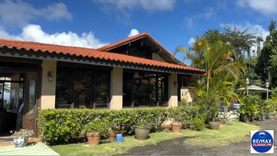 RE/MAX real estate, Puerto Rico, Cayey, Spectacular house for sale with an ocean view in the Mountains of Cayey