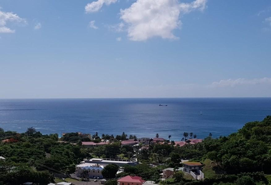 RE/MAX real estate, Grenada, Mont Tout, Beach view lot