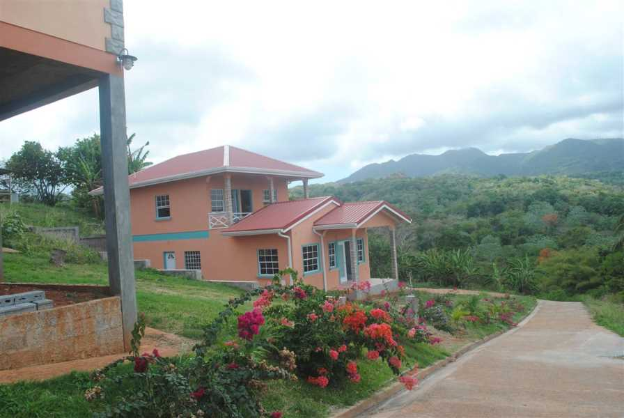 RE/MAX real estate, Grenada, Grand Bras, A newly constructed two storey dwelling house situated at Grand Bras, St. Andrews.