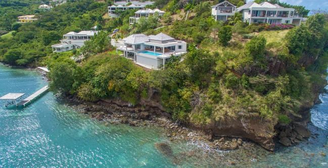 RE/MAX real estate, Grenada, Morne Rouge, Waterfront Property located at Morne Rouge...