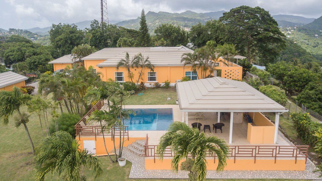 RE/MAX real estate, Grenada, Morne Jaloux, Magnificent family home is conveniently located at Morne Jaloux,St George
