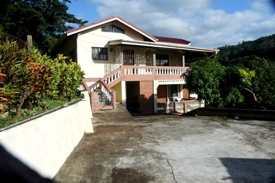 RE/MAX real estate, Grenada, Corinth, Beautiful 2 Storey Residential property situated at Corinth, St David's