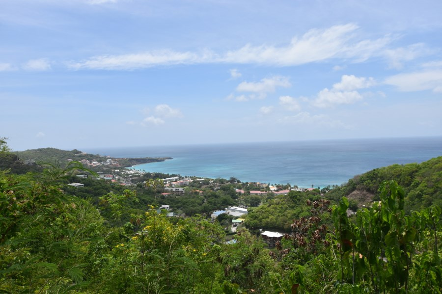 RE/MAX real estate, Grenada, Grand Anse, Panoramic Coastal and sea views at Karland Park, overlooking Grand Anse Beach