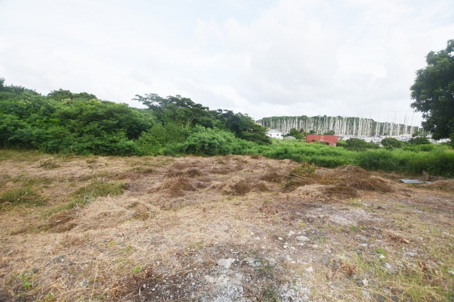 RE/MAX real estate, Grenada, True Blue, Attractive, fairly level and cleared parcel of undeveloped parcel of land located at True Blue Avenue, St George's.