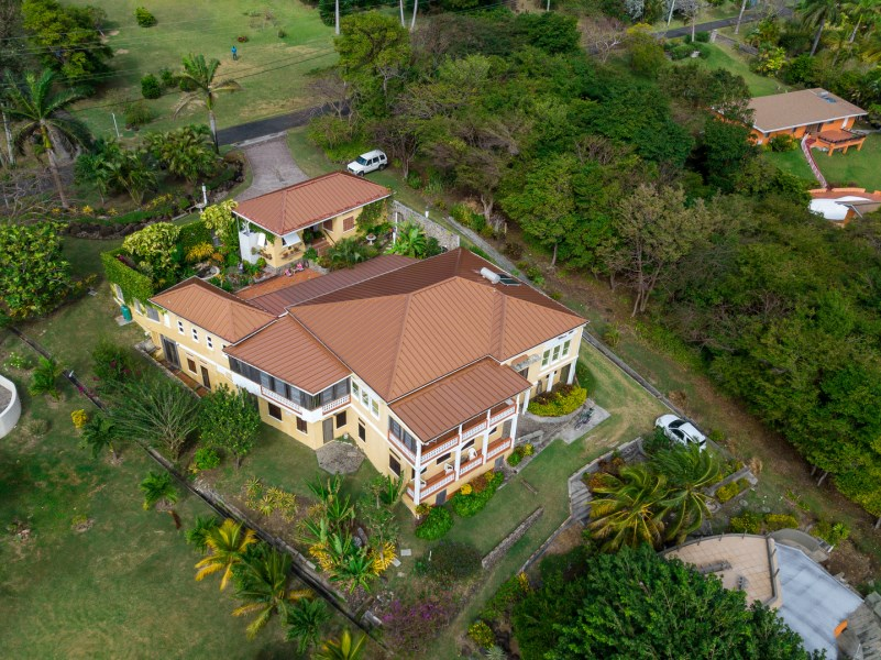 RE/MAX real estate, Grenada, Westerhall, Sophisticated and Architecturally Impressive Waterfront Property