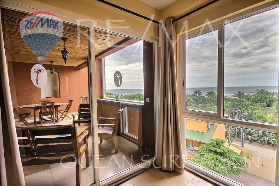 Remax real estate, Costa Rica, Langosta, Gorgeous Ocean View condo in Playa Langosta