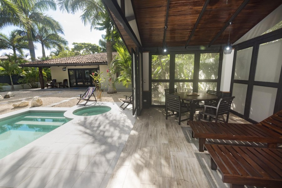 Remax real estate, Costa Rica, Langosta, CASA GUILIETTA ~ LUXURY VILLA WITH 3 BEDROOMS AND 2 GUEST HOUSES, ONLY 50M FROM SAND