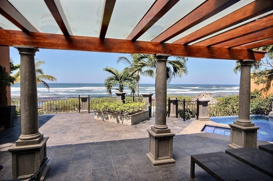 Remax real estate, Costa Rica, Langosta, CASA BENDITA ~ OCEANFRONT OASIS OF BEAUTY AND LUXURY IN PLAYA LANGOSTA