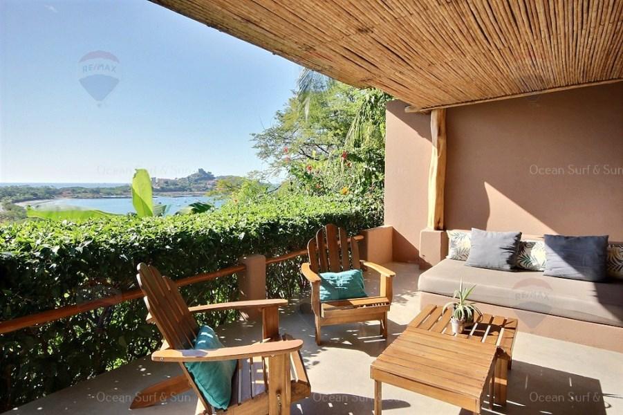 Remax real estate, Costa Rica, Flamingo, Villa Bel Marina ~ Multi-level 3 bedroom ocean view jewel!