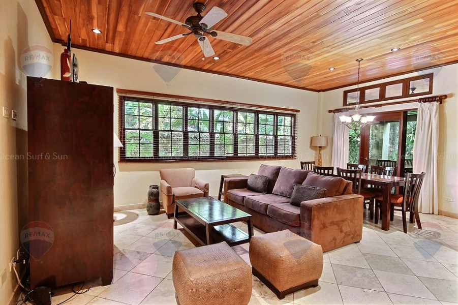 Remax real estate, Costa Rica, Langosta, Ibis #4 ~ 2 bed condo across the street from the beach!
