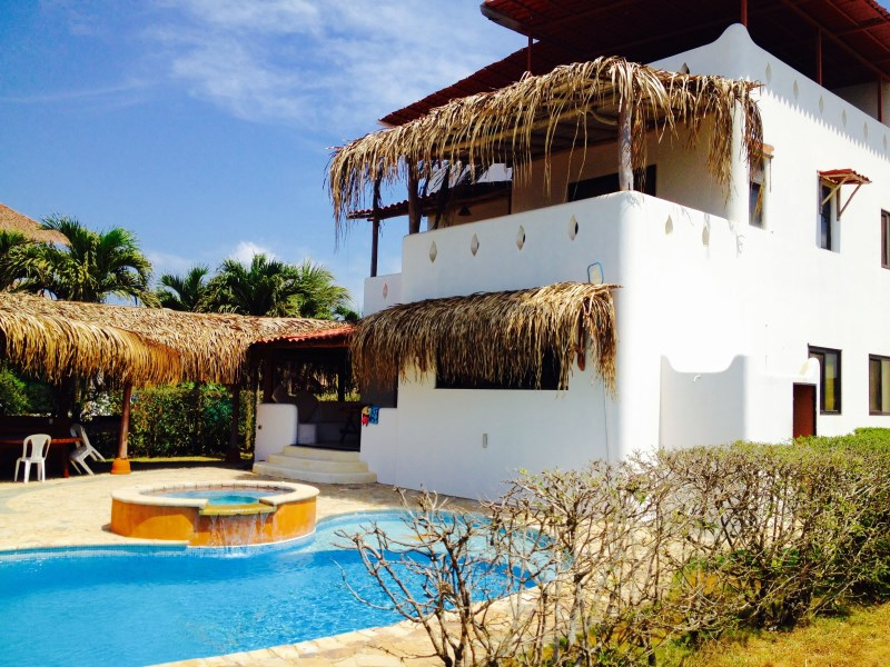 Remax real estate, Costa Rica, Hermosa Beach, REDUCED! Esquina Beach Beach Front Villa in Playa Hermosa
