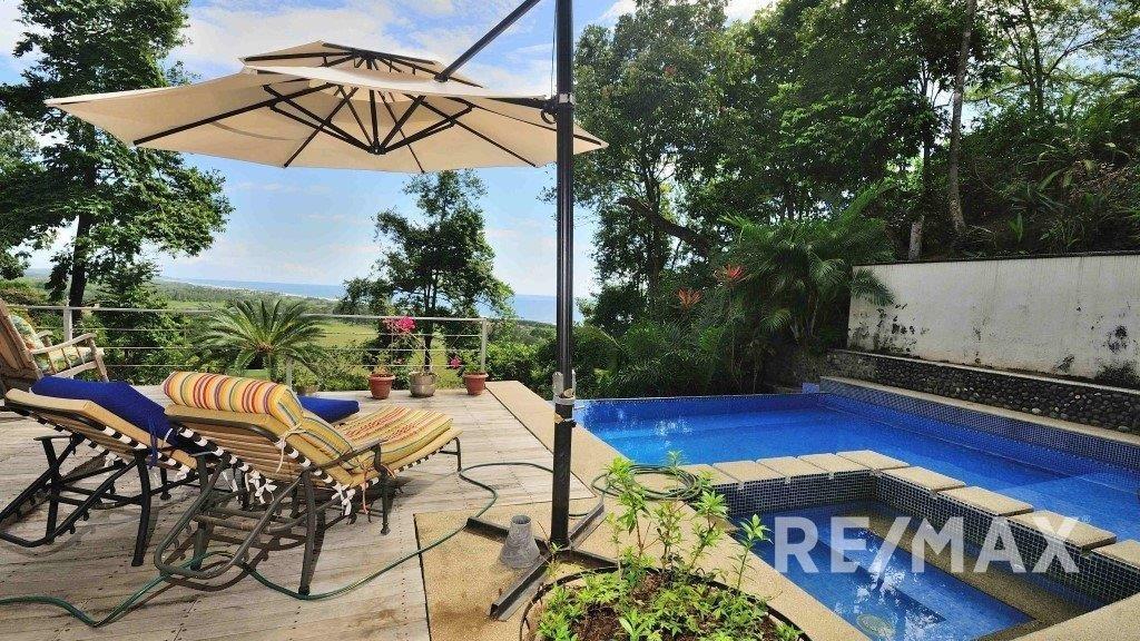 Remax real estate, Costa Rica, Hermosa Beach, Valle Perdido Luxury Hermosa Home For Sale