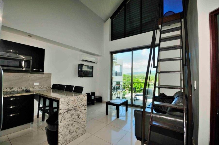 Remax real estate, Costa Rica, Jaco, Oceano Duplex Loft with Guaranteed Rental Income