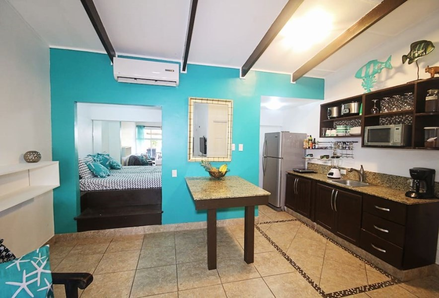 Remax real estate, Costa Rica, Jaco, Remodeled Tropical Condo Main Street Jaco Beach
