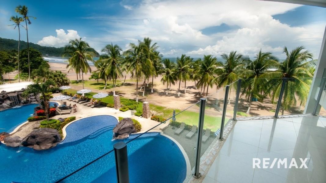 Remax real estate, Costa Rica, Jaco, DIAMANTE DEL SOL N303 ABSOLUTE OCEAN FRONT
