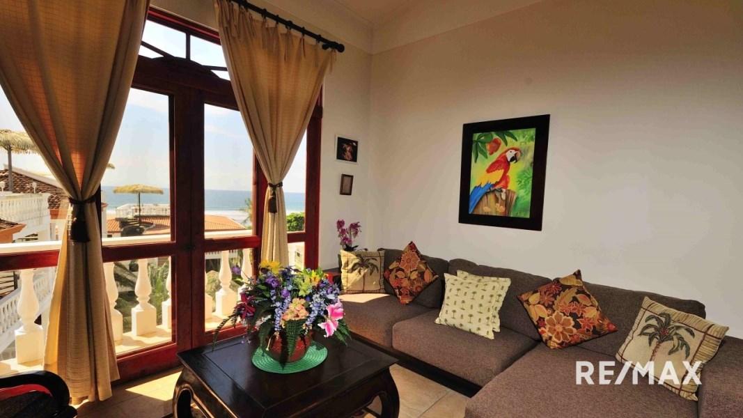 Remax real estate, Costa Rica, Jaco, Paloma Blanca E4 ocean view 4th floor (top floor)