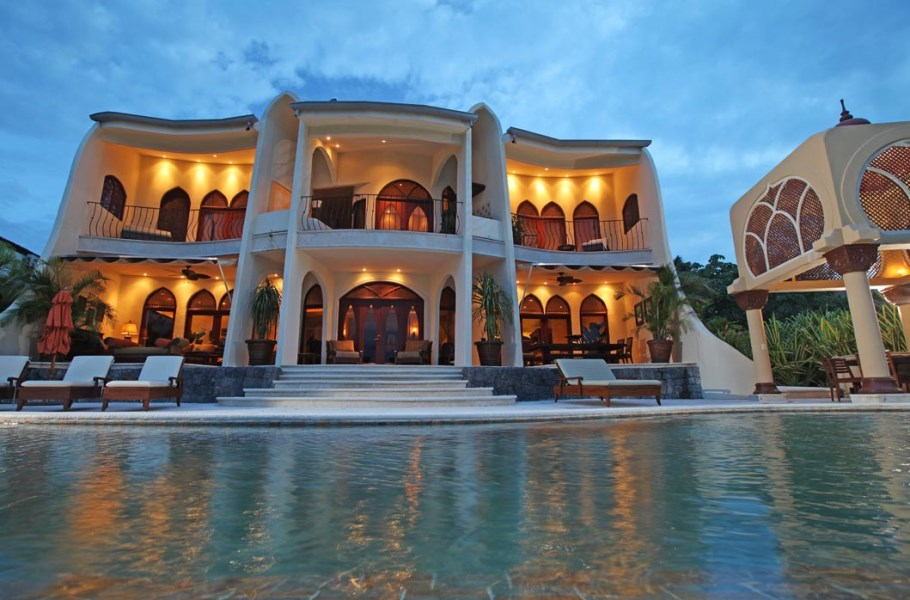 Remax real estate, Costa Rica, Puntarenas, Moroccan Style Mansion with amazing ocean view