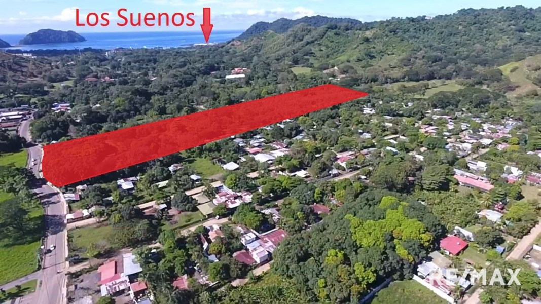 Remax real estate, Costa Rica, Puntarenas, 12.5 Acre Herradura Development Land Near Los Suenos