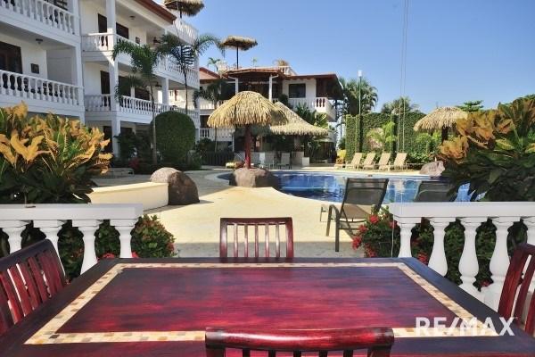 Remax real estate, Costa Rica, Jaco, La Paloma Blanca D1 Oceanfront Ground Level Two Bedroom Condo