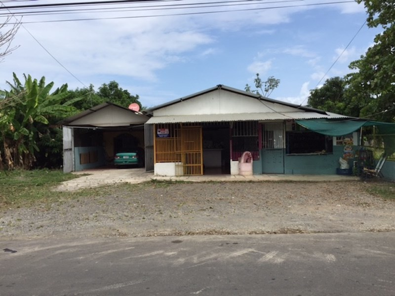 Remax real estate, Costa Rica, Parrita, Home Attached Commercial Space