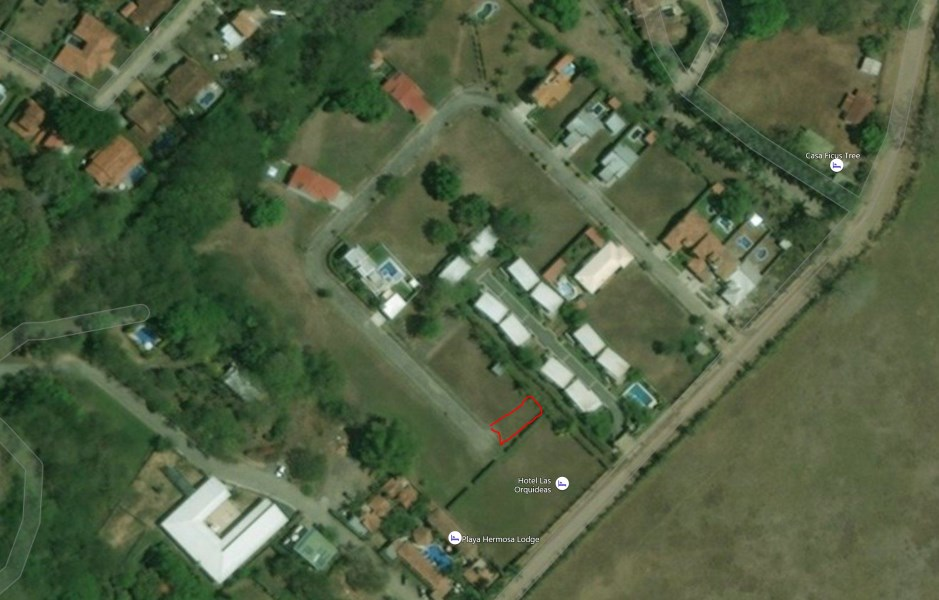 Remax real estate, Costa Rica, Hermosa Beach, Building lot gated community