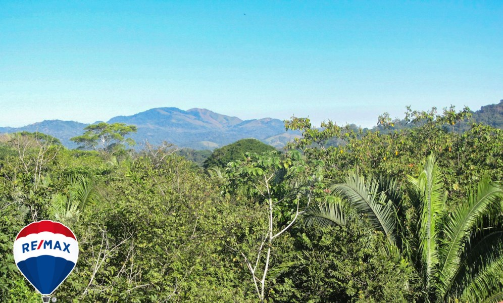 Remax real estate, Costa Rica, Esterillos, Mountain View Canada Hill Titled Home