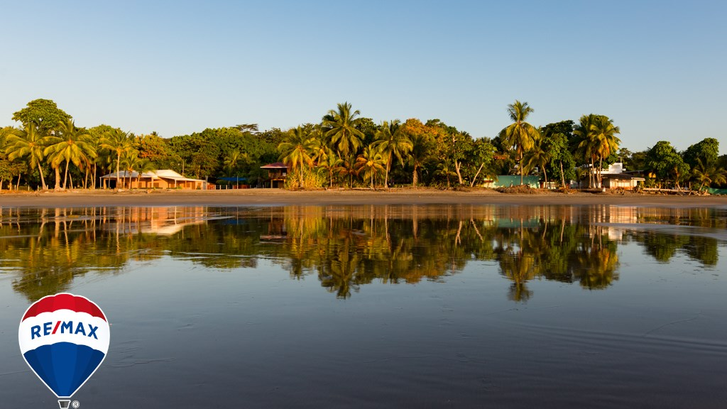 Remax real estate, Costa Rica, Esterillos, Surfer's Dream Beachfront Beach Camp on a large lot