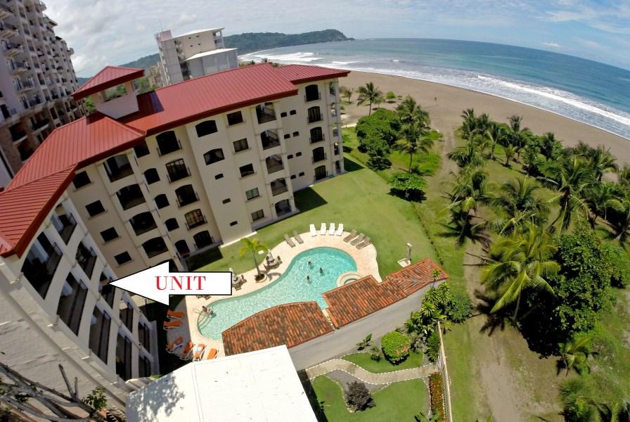 Remax real estate, Costa Rica, Puntarenas, Beachfront Jaco Luxury 3 bedroom Ocean View Condo