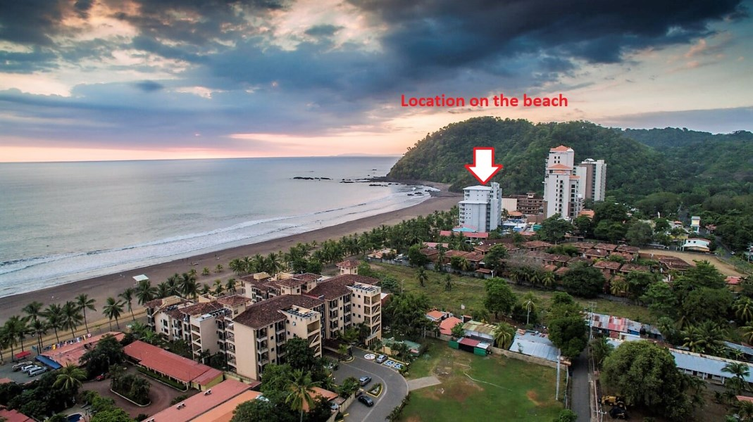 Remax real estate, Costa Rica, Puntarenas, Palms 2 Bedroom Beachfront w. Amazing Views