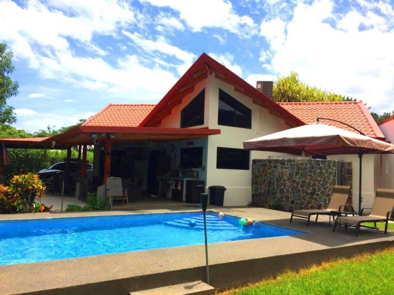 Remax real estate, Costa Rica, Punta Leona, Punta Leona Country feeling 3 bedroom house close to beaches