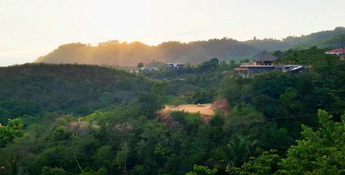 Remax real estate, Costa Rica, Hermosa Beach, Hermosa Beach Great View lot in Gated community