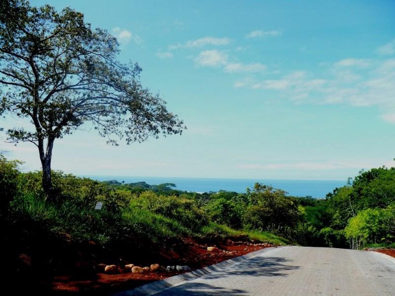Remax real estate, Costa Rica, Esterillos, Ocean view lot,  ready to build close to the beach Esterillos