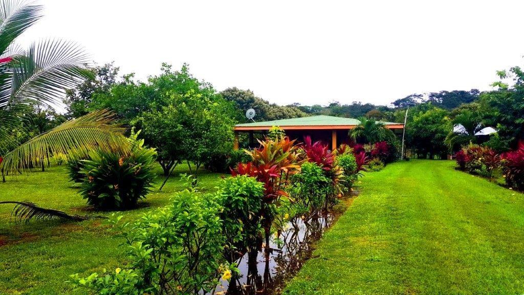 Remax real estate, Costa Rica, Puntarenas, Hermosa flat farm land plus House