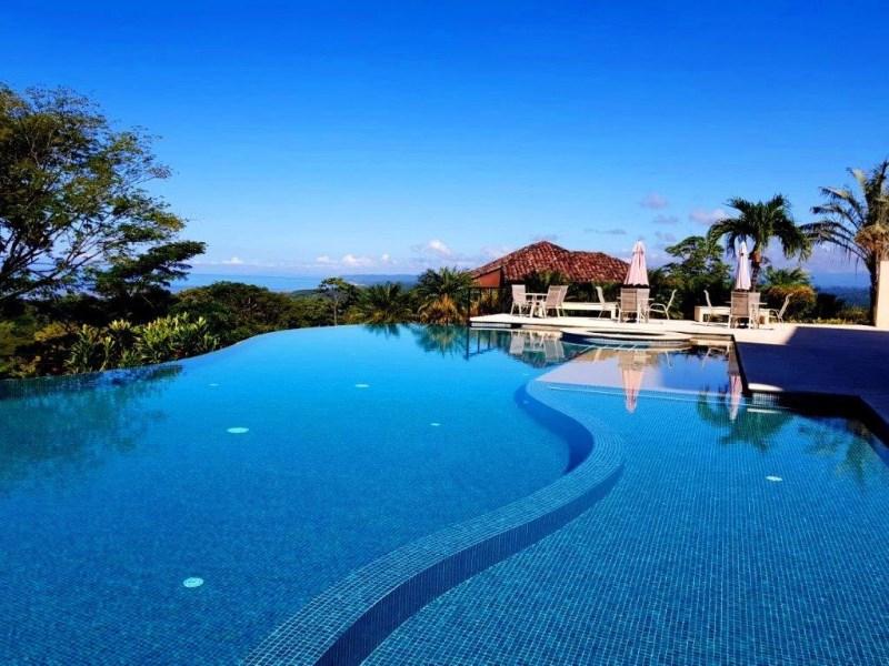 Remax real estate, Costa Rica, Tarcoles, Hill Top Full Ocean view 3 bedroom condo