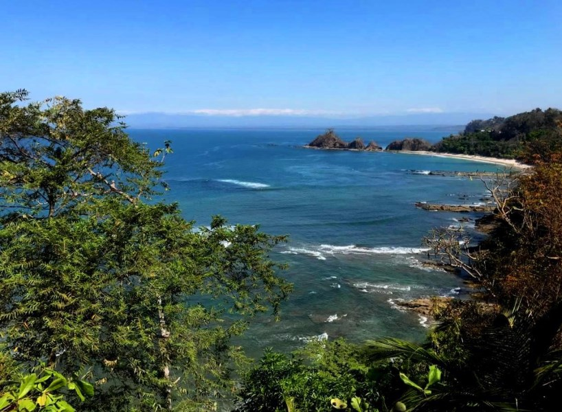 Remax real estate, Costa Rica, Punta Leona, Punta Leona first line last full ocean view lot ready to build
